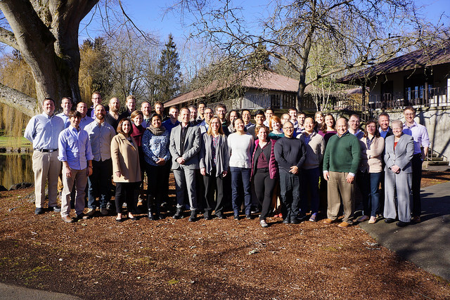 UW Emergency Medicine Faculty gathered at a retreat