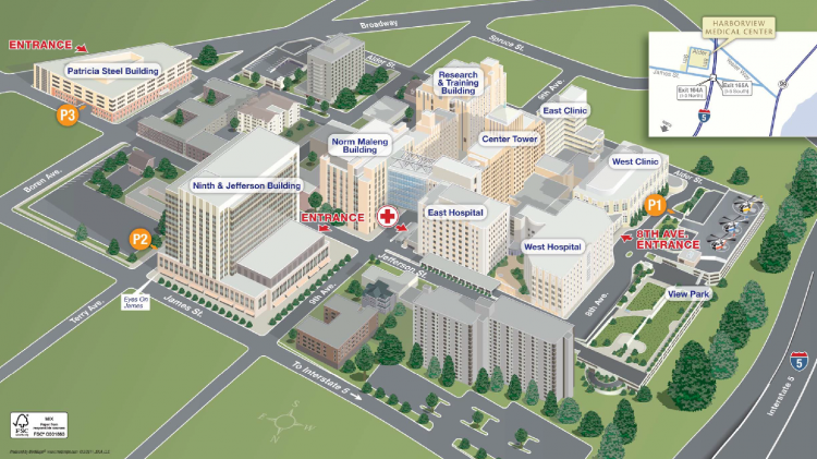 Directions & Maps | Department of Emergency Medicine | University of