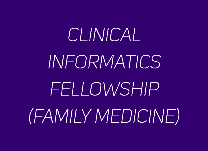 Clinical Informatics Fellowship
