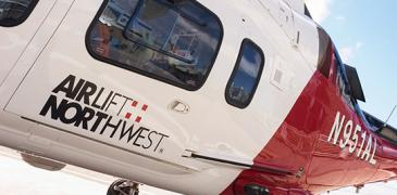 Airlift Northwest. Photo: UW Medicine/Clare McLean.