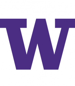 Purple University of Washington W