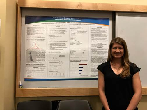 Dr. Emily Bartlett poster presentation research showcase